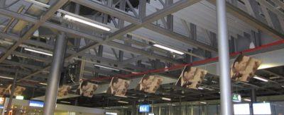Creativa campaña en el aeropuerto de Ginebra