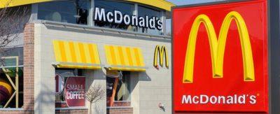 menú de acciones de McDonald