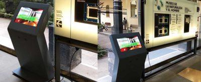 El Museo de la Naturaleza y el Hombre apuesta por la interactividad de los kioscos de Partteam