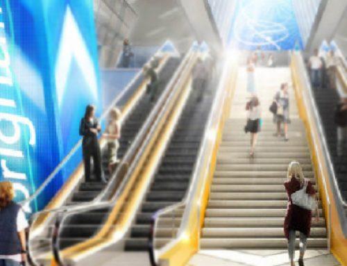 NanoLumens instala una pantalla de cuatro lados en la estación MiamiCentral Brightline